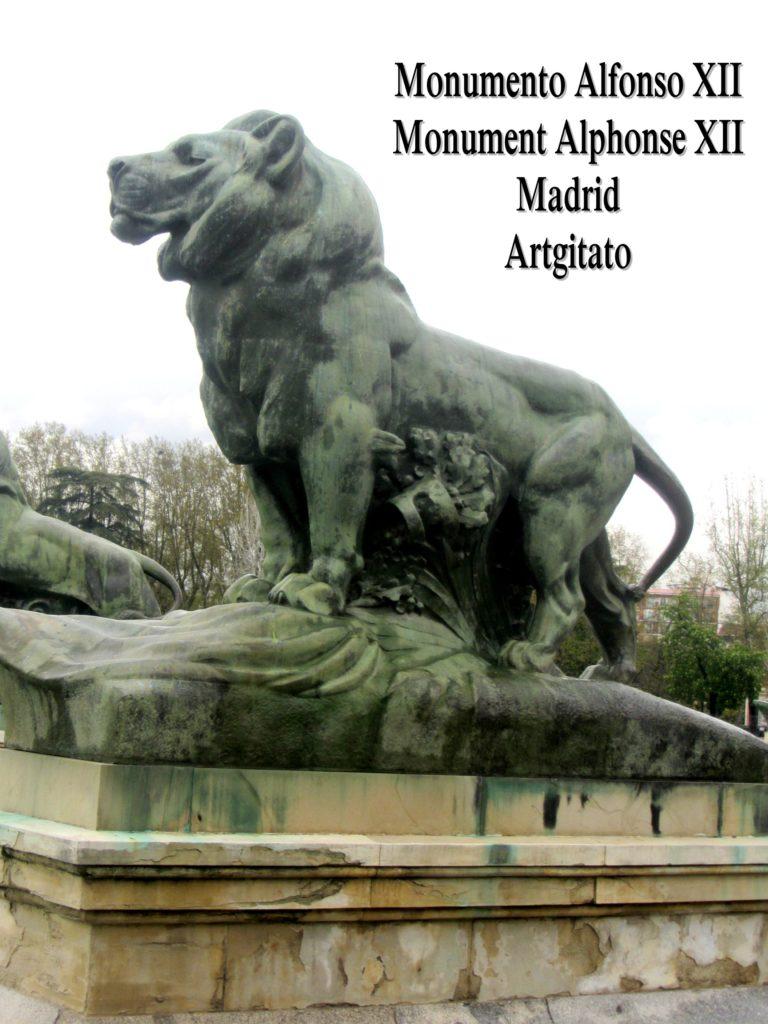 Monumento Alfonso XII Monument Alphonse XII Parque de El Retiro Madrid Artgitato 400