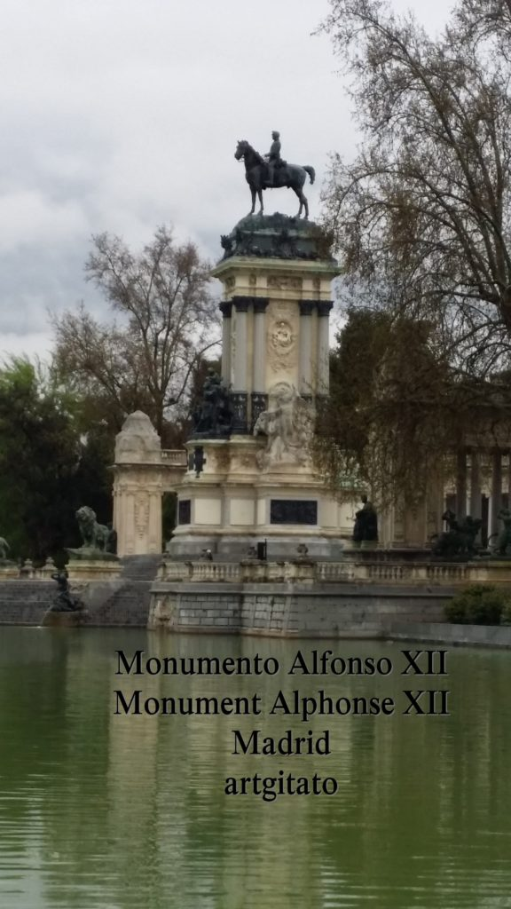 Monumento Alfonso XII Monument Alphonse XII Parque de El Retiro Madrid Artgitato 5