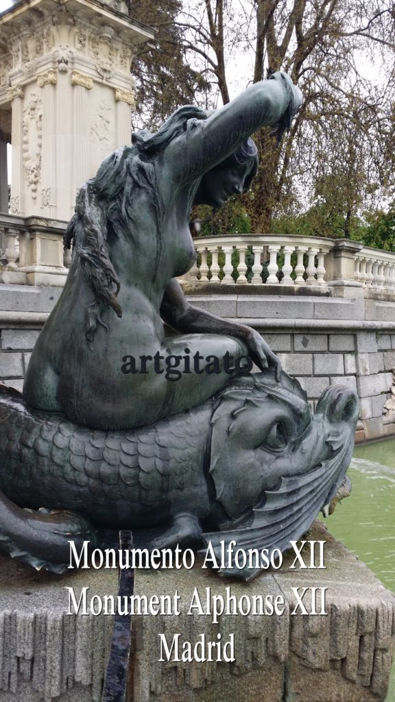 Monumento Alfonso XII Monument Alphonse XII Parque de El Retiro Madrid Artgitato 8
