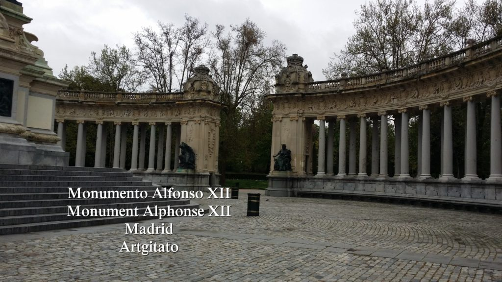 Monumento Alfonso XII Monument Alphonse XII Parque de El Retiro Madrid Artgitato 9
