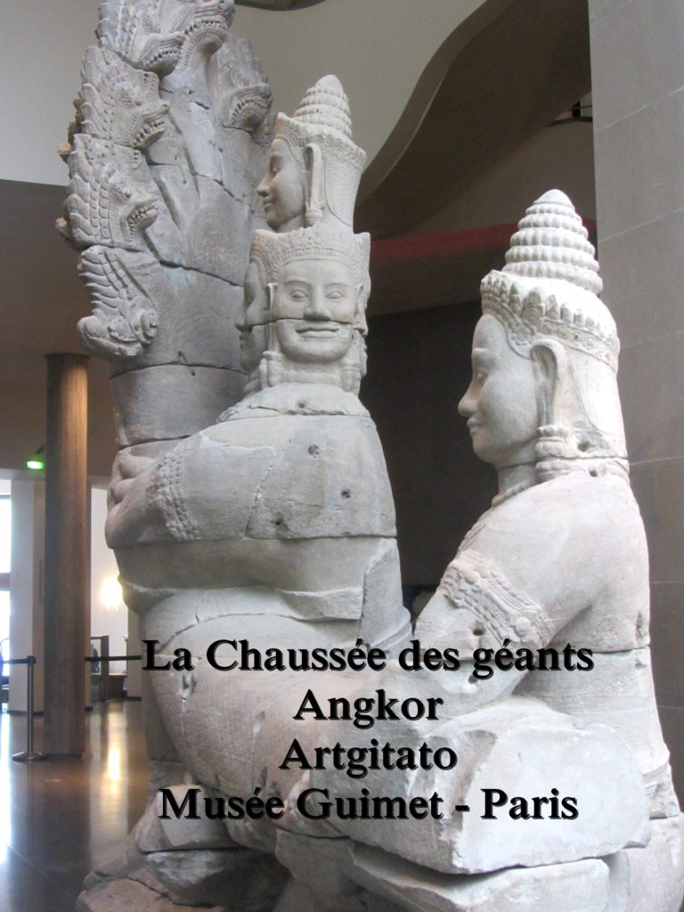 Musée Guimet Paris Artgitato La Chaussée des géants Angkor