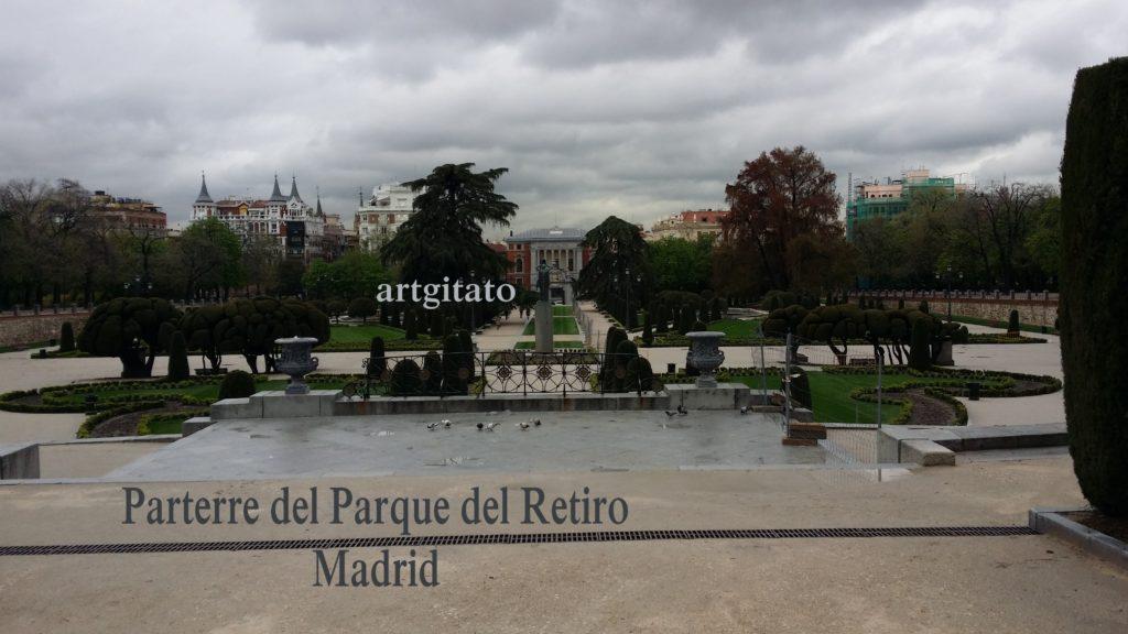 Parterre del Parque del Retiro Madrid Artgitato (1)
