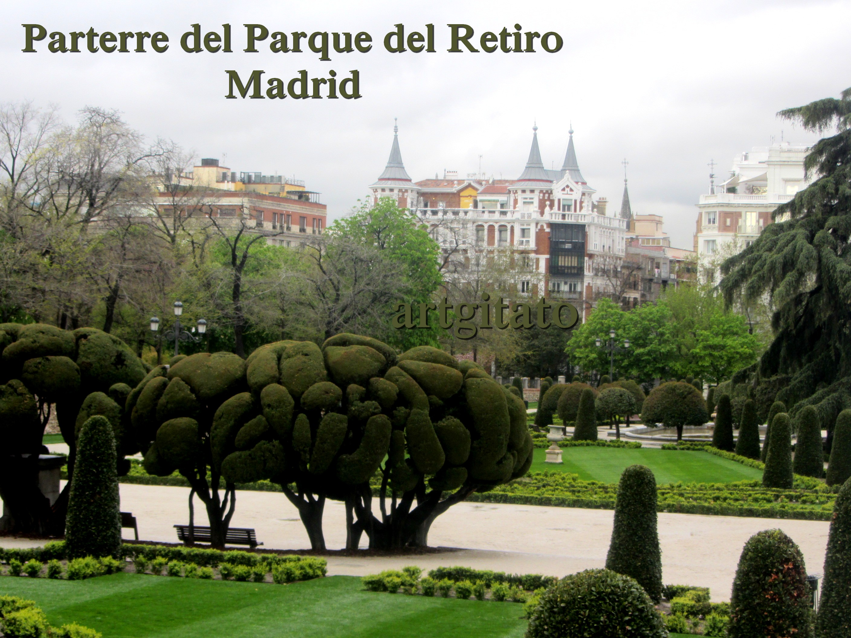 2016 prado autos post for Parque del retiro madrid