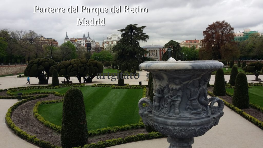 Parterre del Parque del Retiro Madrid Artgitato (2)