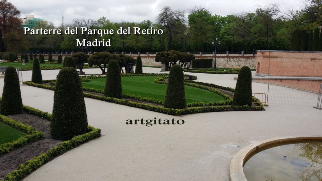 Parterre del Parque del Retiro Madrid Artgitato (3)