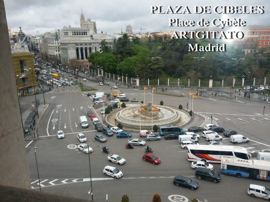 Place de Cybèle PLAZA DE CIBELES artgitato (2)