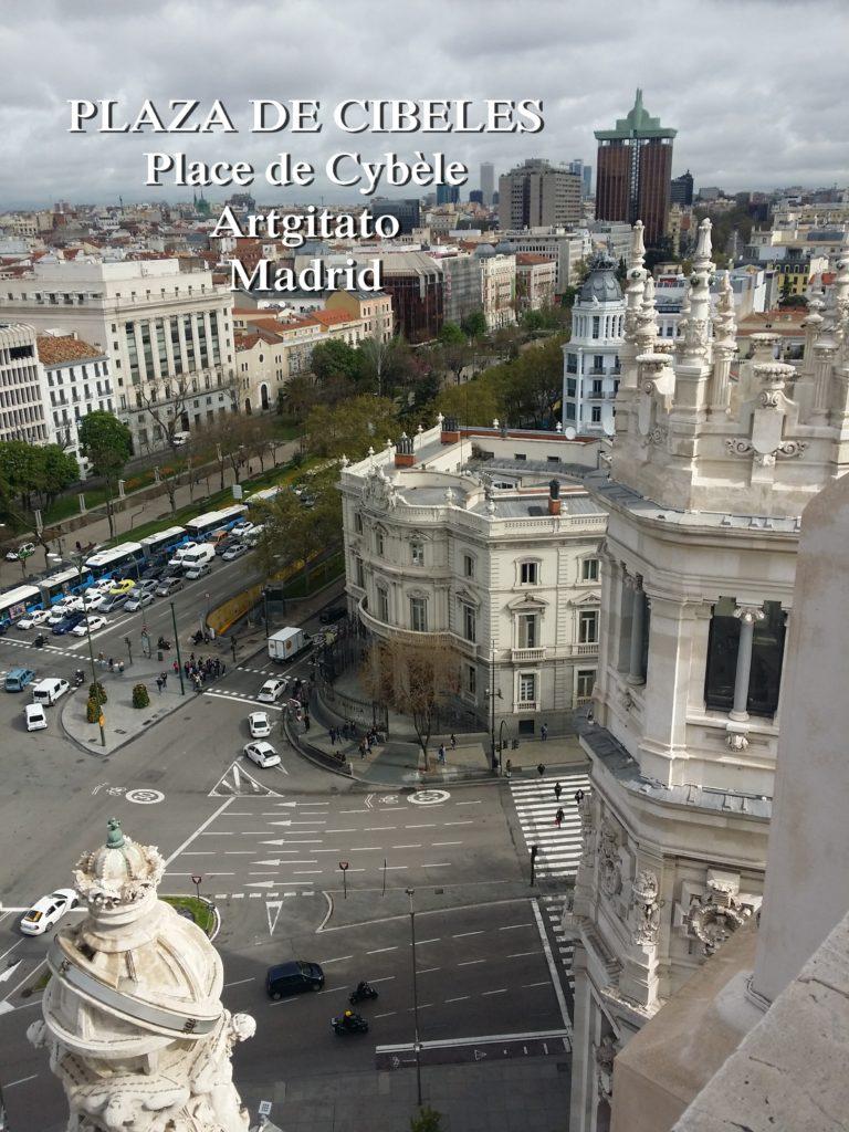 Place de Cybèle PLAZA DE CIBELES artgitato (6)