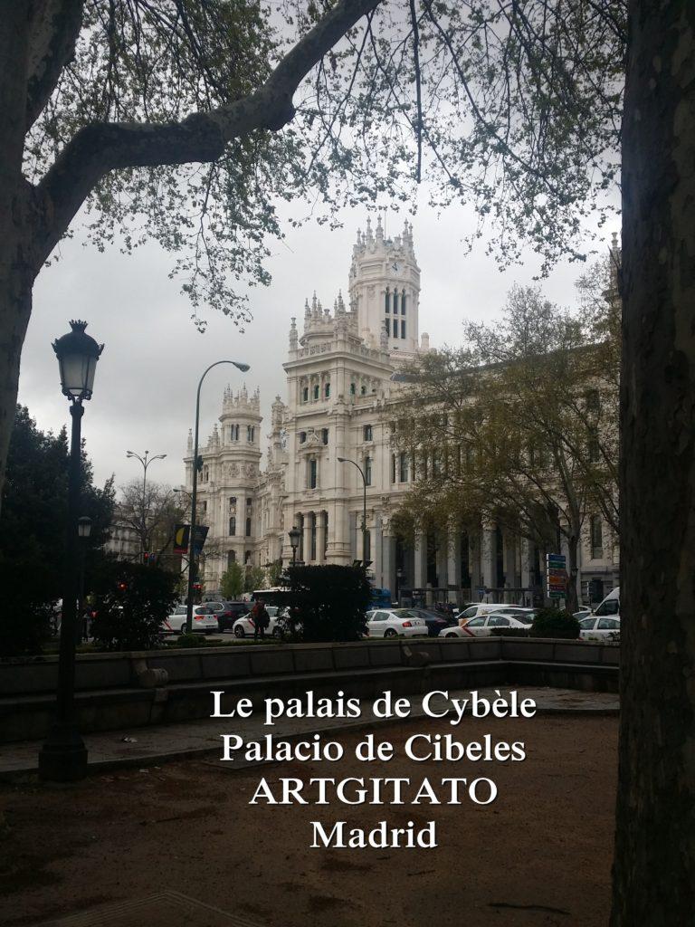 Place de Cybèle plaza de cibeles artgitato palais de Cybèle Palacio de Cibeles  (1)