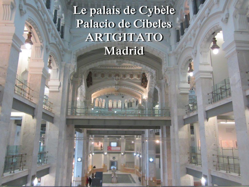 Place de Cybèle plaza de cibeles artgitato palais de Cybèle Palacio de Cibeles  (12)