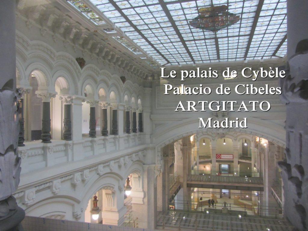 Place de Cybèle plaza de cibeles artgitato palais de Cybèle Palacio de Cibeles  (13)