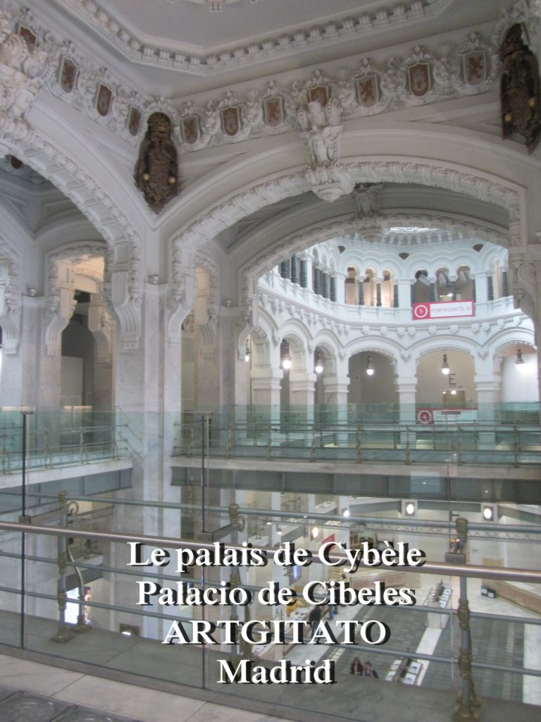 Place de Cybèle plaza de cibeles artgitato palais de Cybèle Palacio de Cibeles  (15)