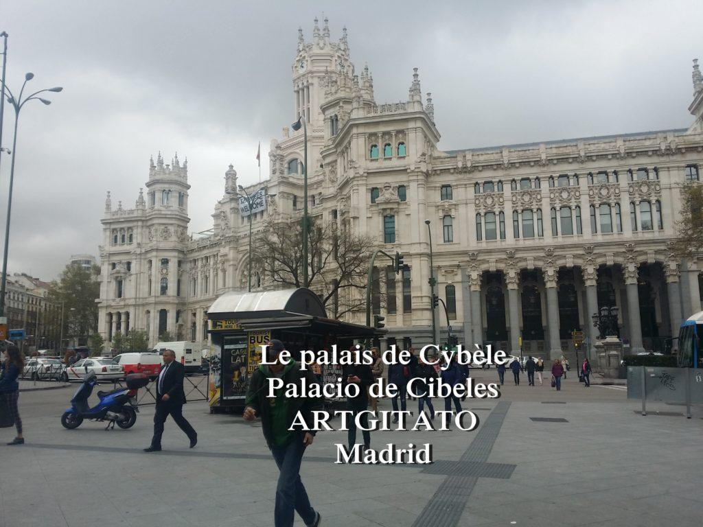 Place de Cybèle plaza de cibeles artgitato palais de Cybèle Palacio de Cibeles  (2)