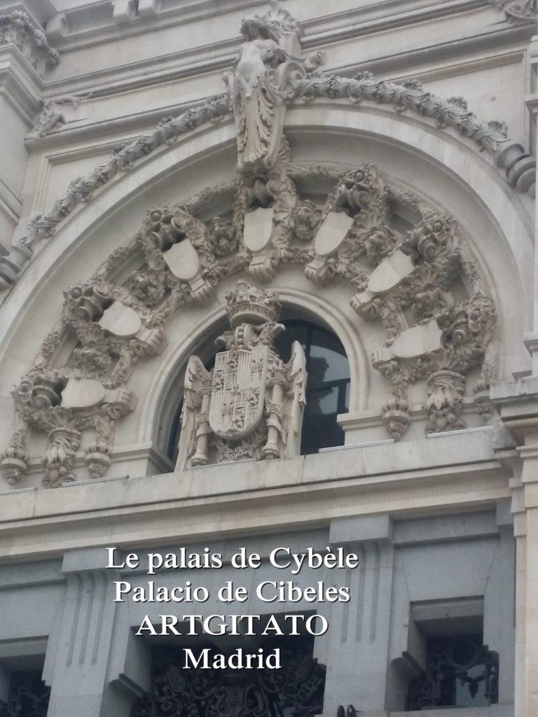 Place de Cybèle plaza de cibeles artgitato palais de Cybèle Palacio de Cibeles  (3)