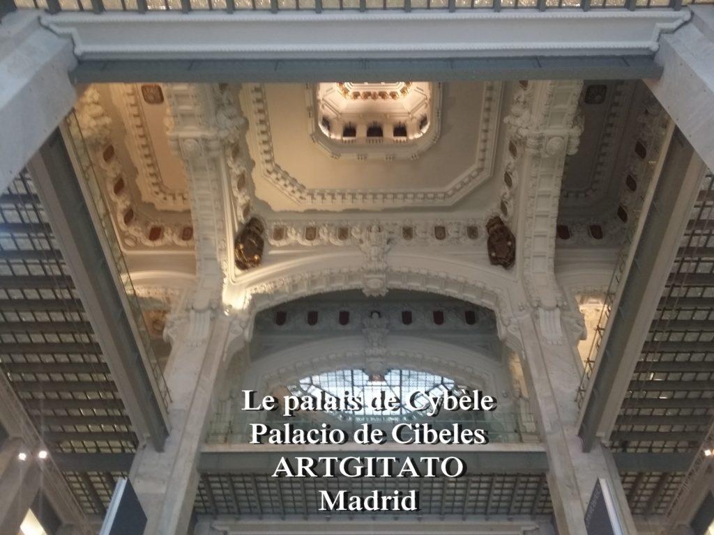 Place de Cybèle plaza de cibeles artgitato palais de Cybèle Palacio de Cibeles  (4)