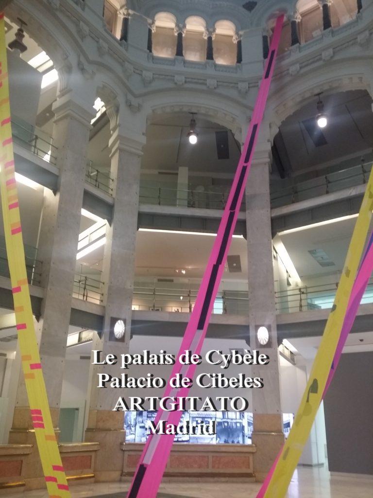 Place de Cybèle plaza de cibeles artgitato palais de Cybèle Palacio de Cibeles  (5)