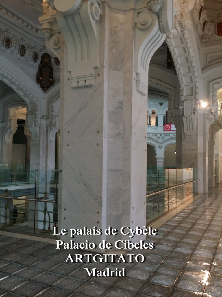 Place de Cybèle plaza de cibeles artgitato palais de Cybèle Palacio de Cibeles  (7)