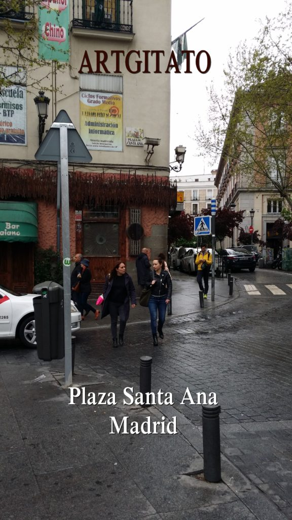 Plaza Santa Ana Place Sainte Anne Artgitato