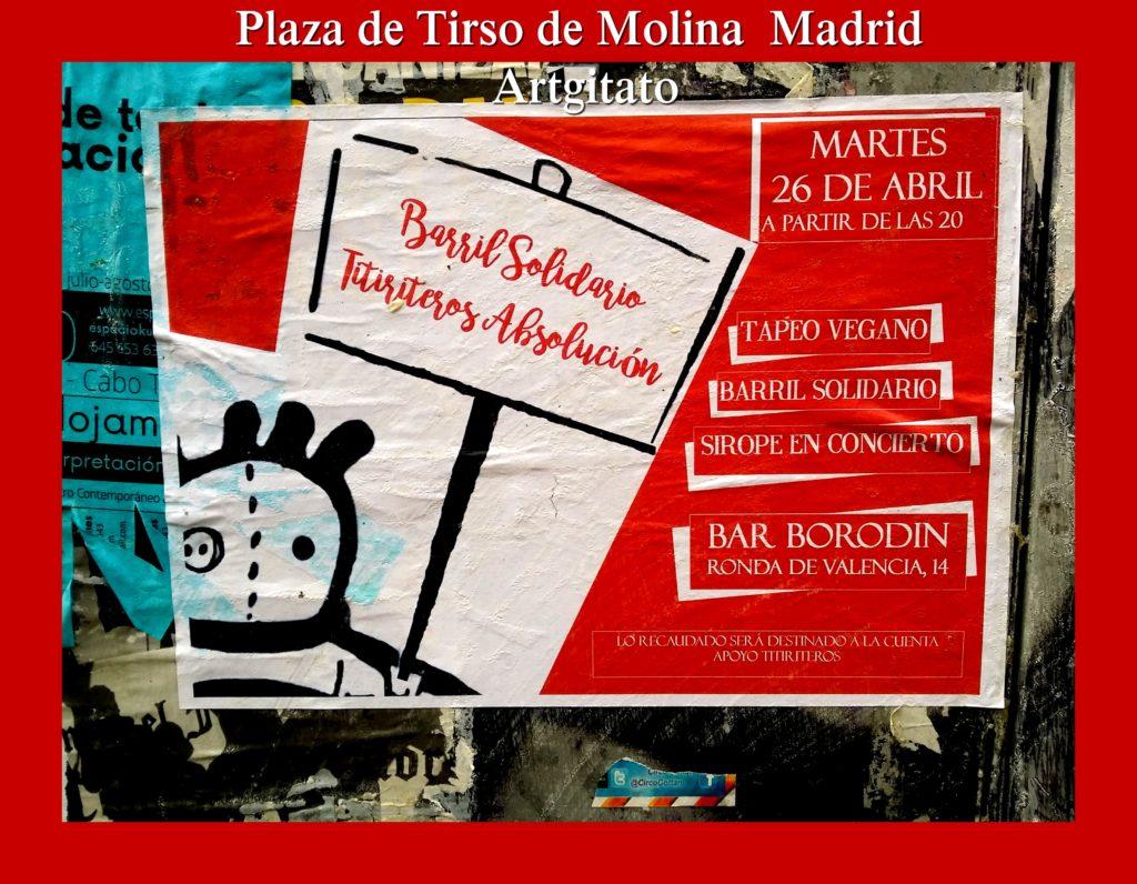 Plaza de Tirso de Molina Madrid Artgitato (15)