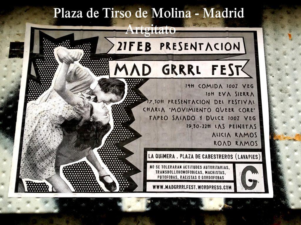 Plaza de Tirso de Molina Madrid Artgitato (24)