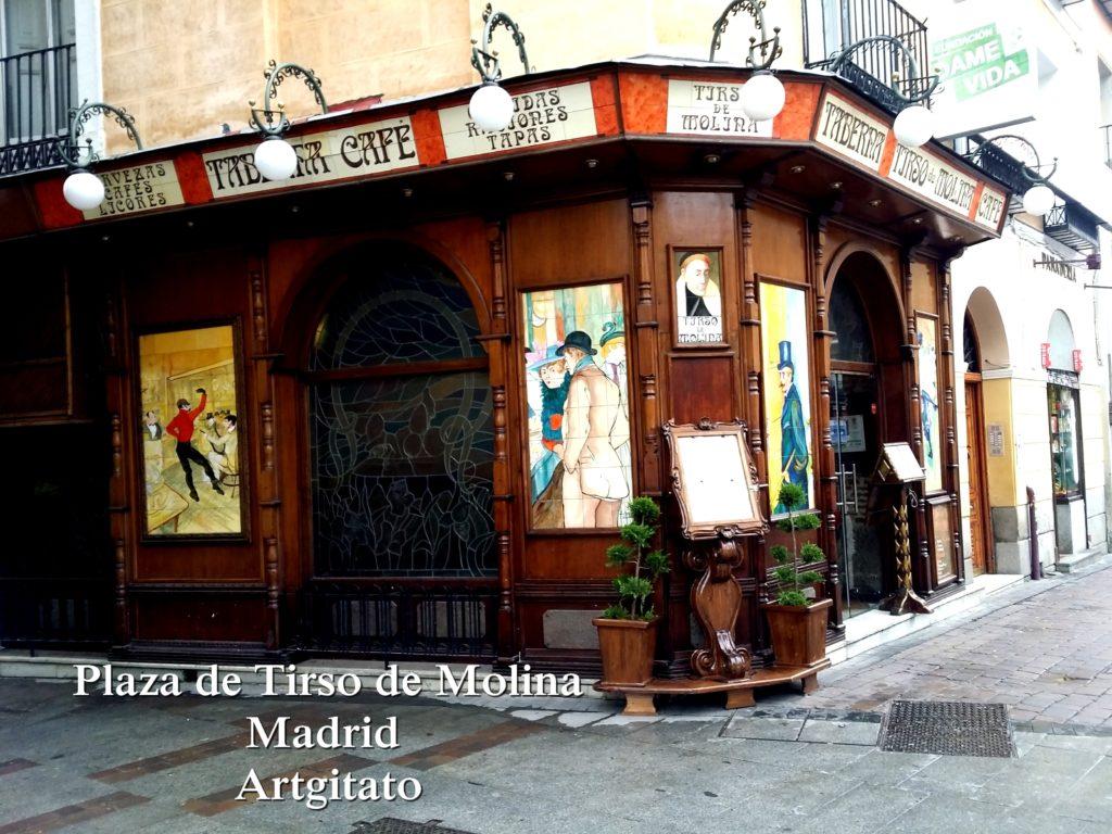 Plaza de Tirso de Molina Madrid Artgitato (7)