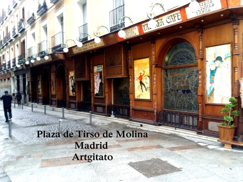 Plaza de Tirso de Molina Madrid Artgitato (8)