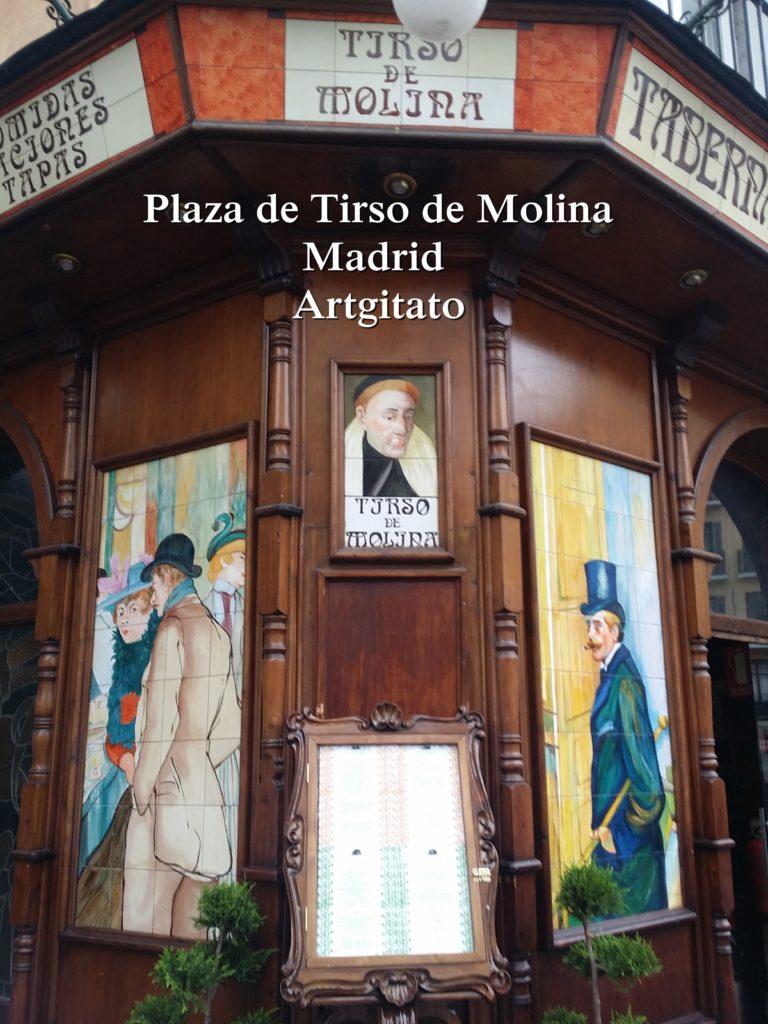 Plaza de Tirso de Molina Madrid Artgitato (9)