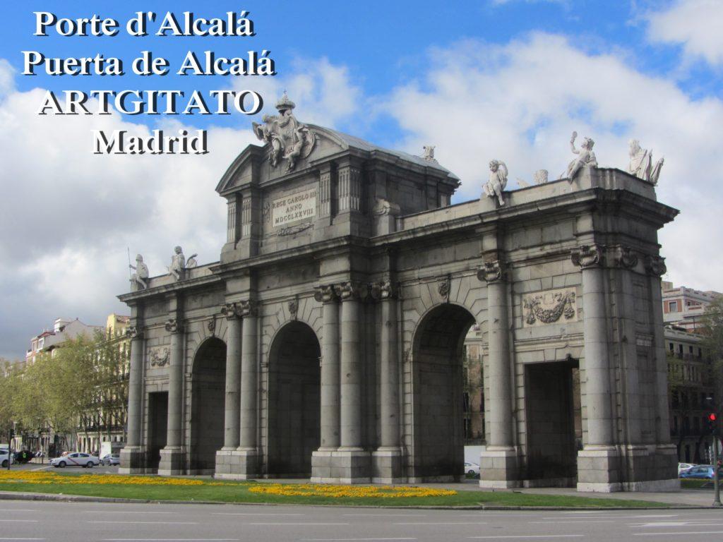 Porte d'Alcalá Puerta de Alcalá Madrid Artgitato (2)