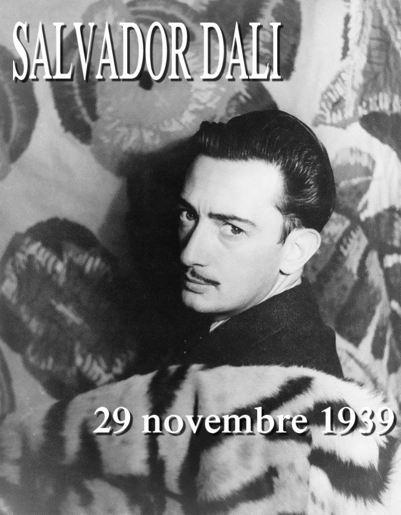 Salvador_Dalí_1939 29 Novembre 1939 Ode à Salvador Dali