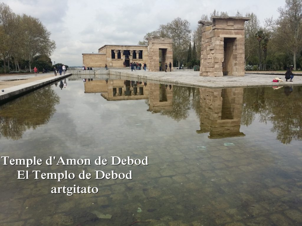 Temple d'Amon de Debod Madrid artgitato (3)