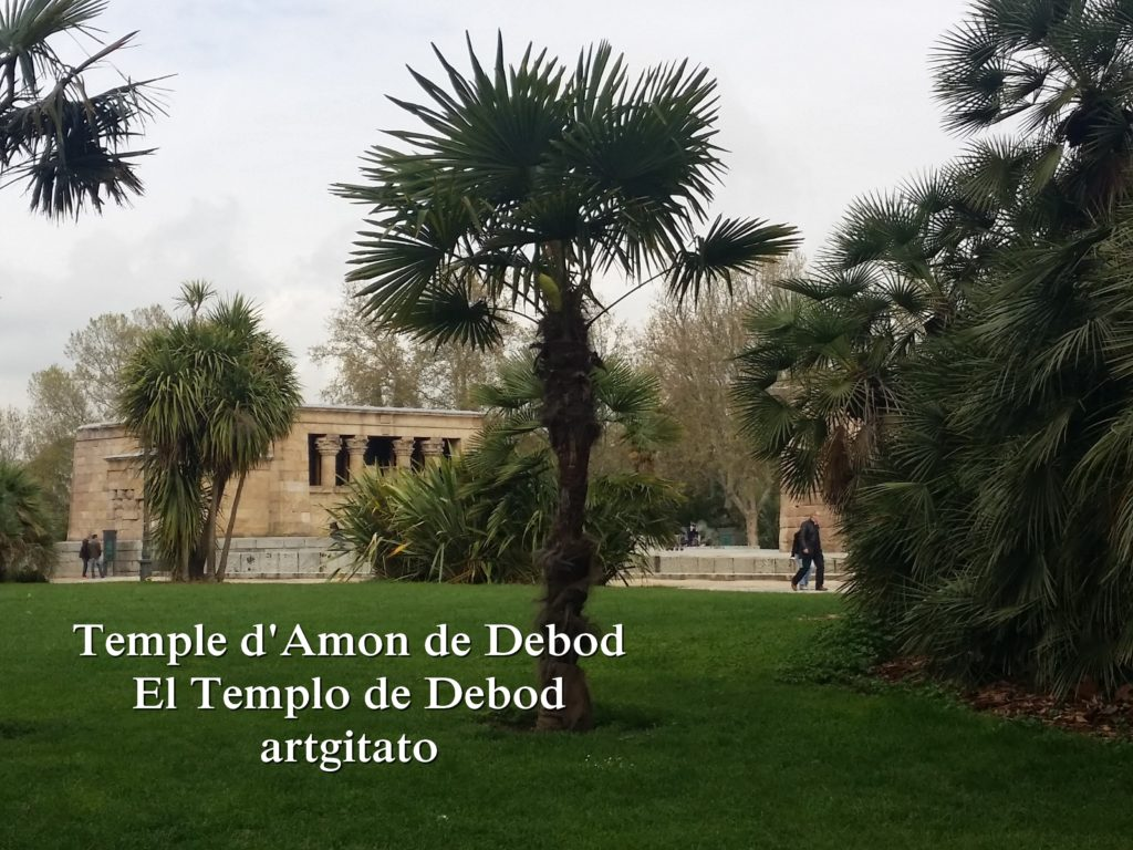 Temple d'Amon de Debod Madrid artgitato (4)