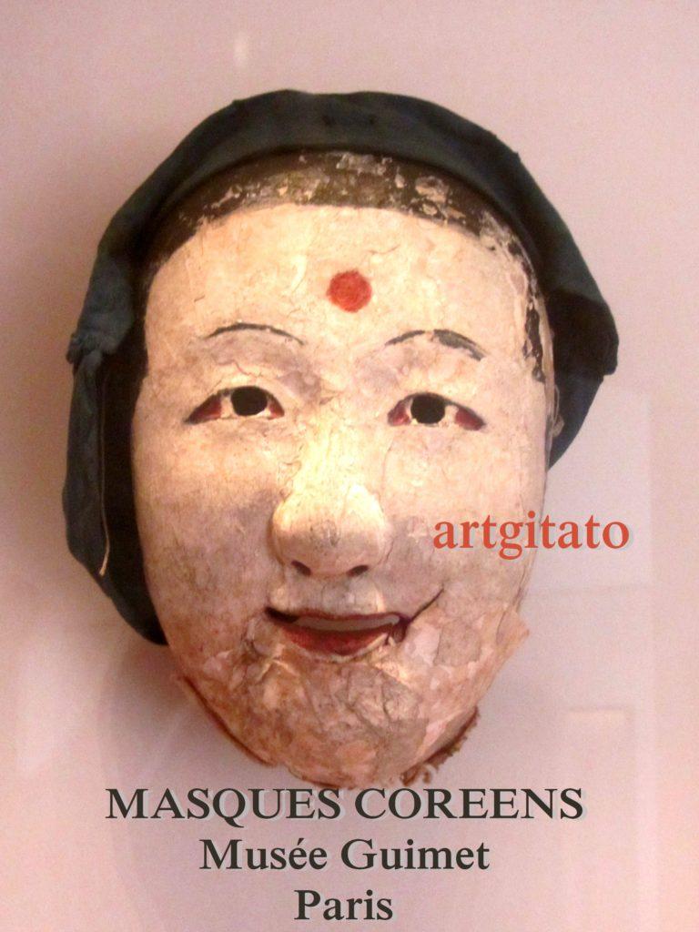 masques coréens musée guimet Paris Artgitato 3