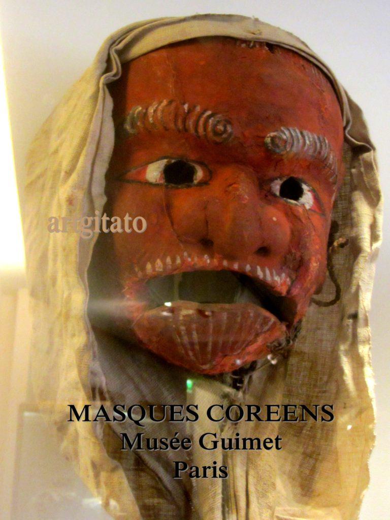 masques coréens musée guimet Paris Artgitato 4