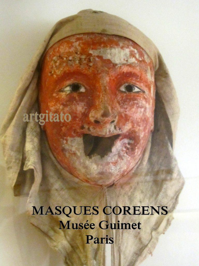 masques coréens musée guimet Paris Artgitato 5