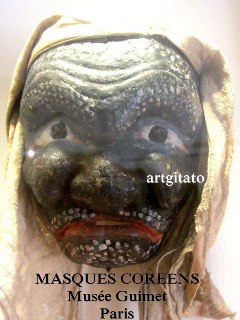 masques coréens musée guimet Paris Artgitato 6