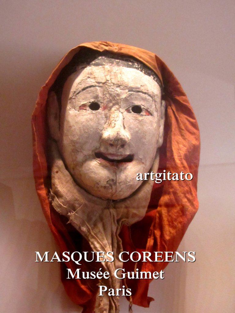 masques coréens musée guimet Paris Artgitato 7