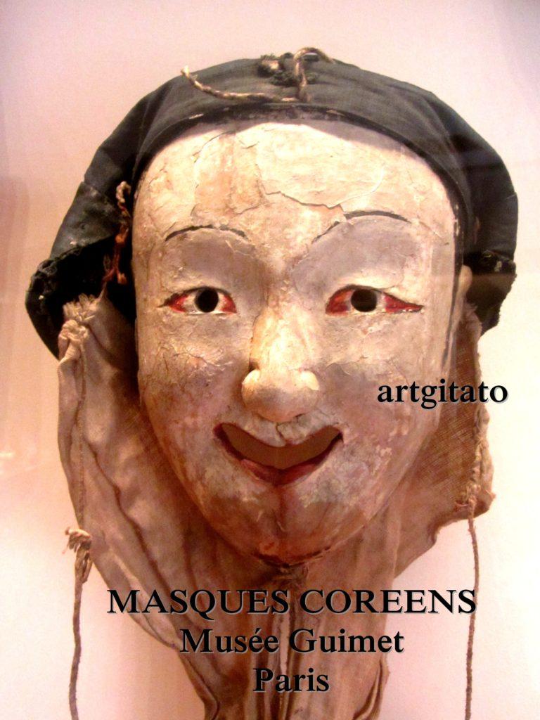 masques coréens musée guimet Paris Artgitato 8