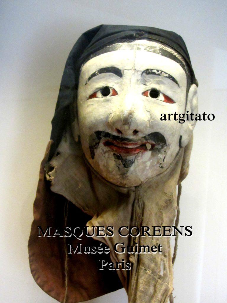 masques coréens musée guimet Paris Artgitato 9