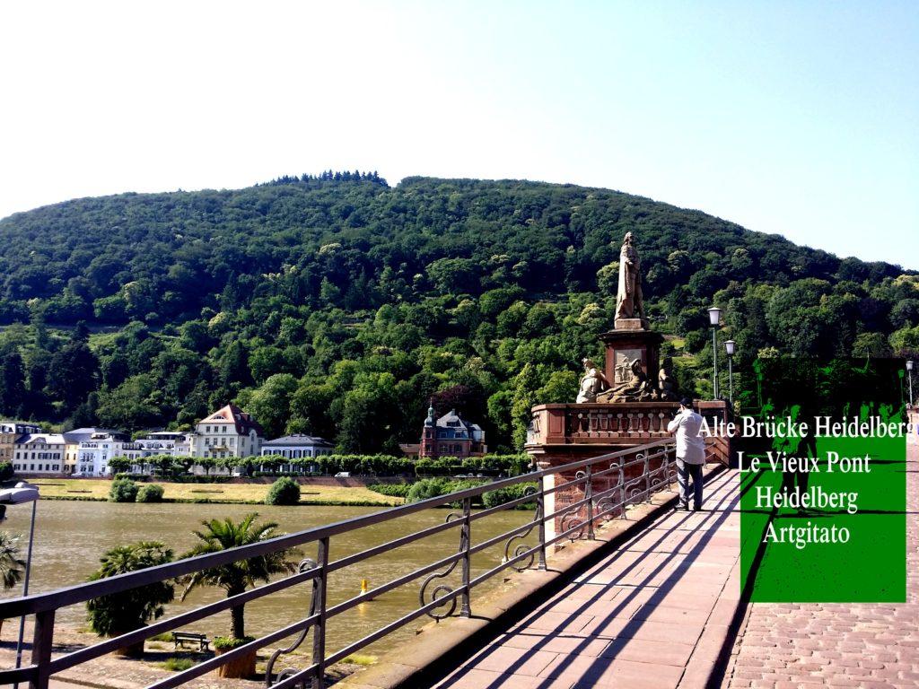 Alte Brücke Heidelberg - Le Vieux Pont de Heidelberg Artgitato (3)