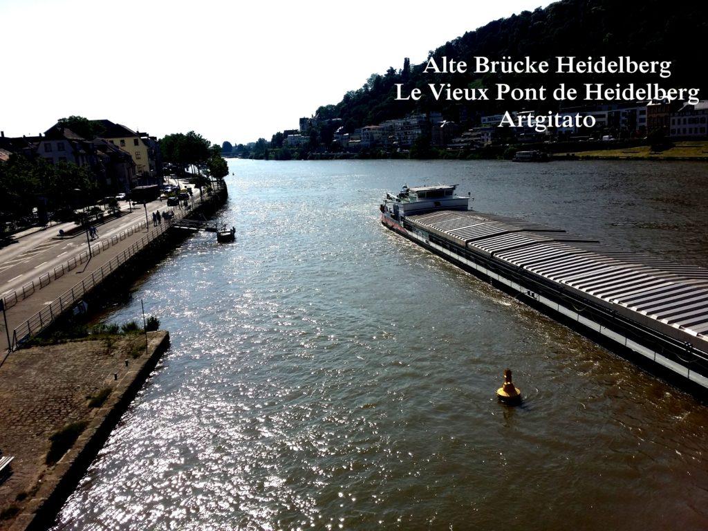 Alte Brücke Heidelberg - Le Vieux Pont de Heidelberg Artgitato (4)
