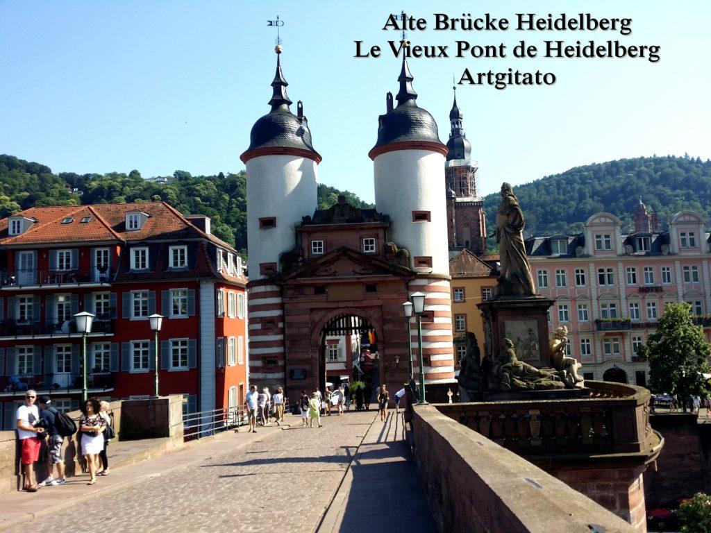 Alte Brücke Heidelberg - Le Vieux Pont de Heidelberg Artgitato (5)