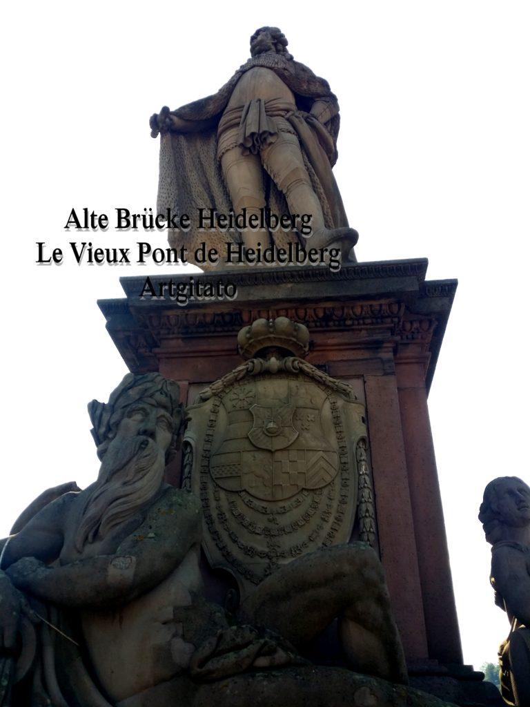 Alte Brücke Heidelberg - Le Vieux Pont de Heidelberg Artgitato (6)
