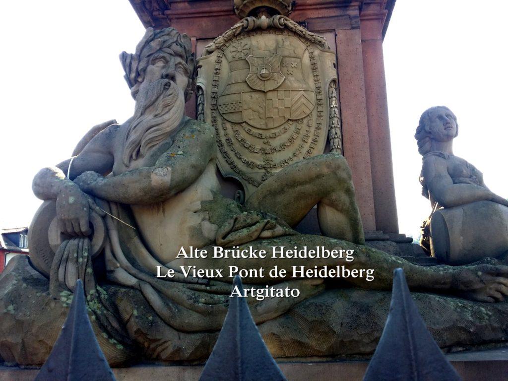 Alte Brücke Heidelberg - Le Vieux Pont de Heidelberg Artgitato (7)