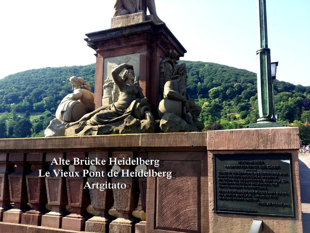 Alte Brücke Heidelberg - Le Vieux Pont de Heidelberg Artgitato (8)
