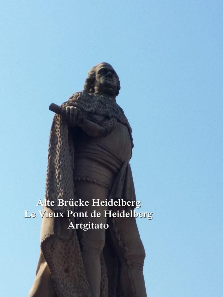 Alte Brücke Heidelberg - Le Vieux Pont de Heidelberg Artgitato (9)