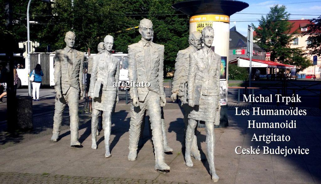 Ceské Budejovice Michal Trpak Humanoidi Les Humanoïdes Argitato 2