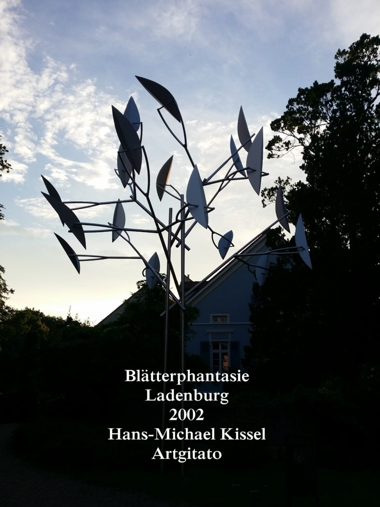 Hans-Michael Kissel - Blätterphantasie - Ladenburg - Feuillage Fantaisie Artgitato (1)