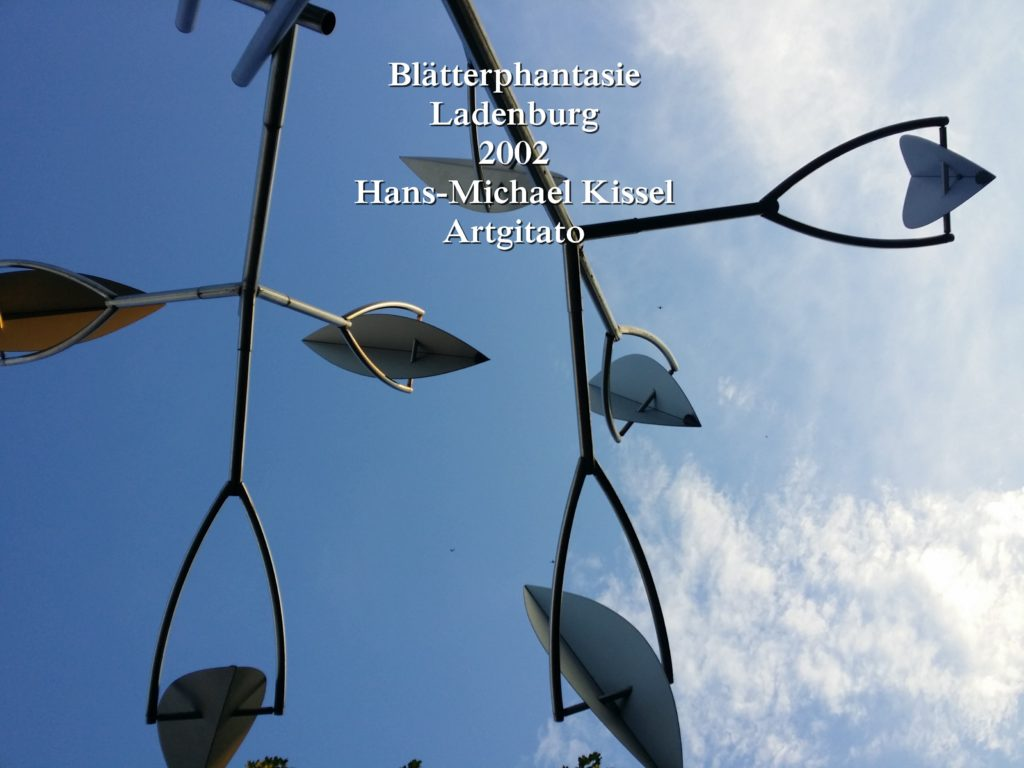 Hans-Michael Kissel - Blätterphantasie - Ladenburg - Feuillage Fantaisie Artgitato (8)