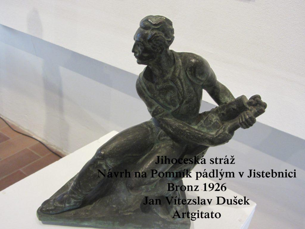 Jan Vítezslav Dušek Tabor Artgitato Jihoceská stráž 1926