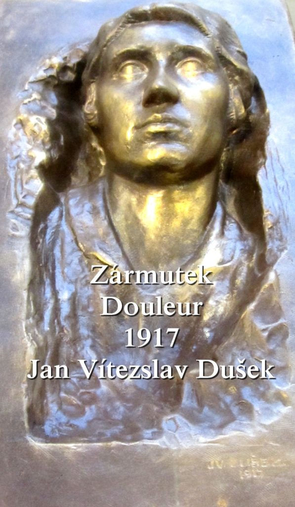 Jan Vítezslav Dušek Tabor Artgitato Zármutek Douleur 1917