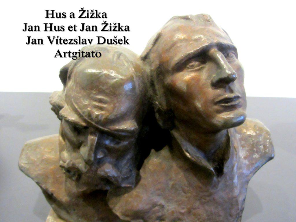 Jan Vítezslav Dušek Tabor Jan Hus et Jan Zizka
